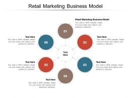 Retail Marketing Business Model Ppt Powerpoint Presentation Model Show Cpb