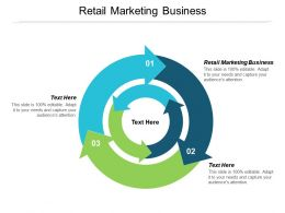 Retail Marketing Business Ppt Powerpoint Presentation Styles Inspiration Cpb
