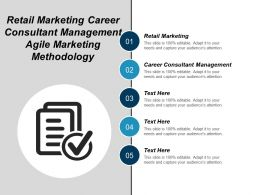 Retail Marketing Career Consultant Management Agile Marketing Methodology Cpb
