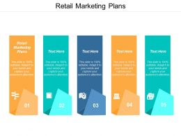 Retail Marketing Plans Ppt Powerpoint Presentation Model Deck Cpb