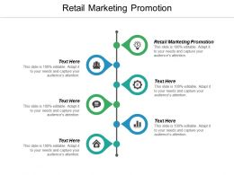 Retail Marketing Promotion Ppt Powerpoint Presentation Icon Visuals Cpb