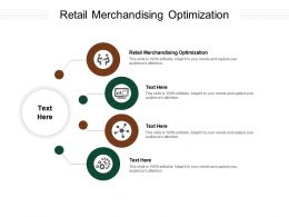 Retail Merchandising Optimization Ppt Powerpoint Presentation File Example File Cpb