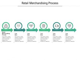 Retail Merchandising Process Ppt Powerpoint Presentation Show Example Cpb
