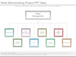 Retail Merchandising Product Ppt Ideas