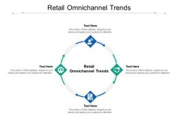 Retail Omnichannel Trends Ppt Powerpoint Presentation Styles Clipart Images Cpb