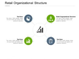 Retail Organizational Structure Ppt Powerpoint Presentation Styles Clipart Cpb