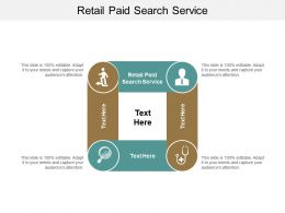 Retail Paid Search Service Ppt Powerpoint Presentation Ideas Portfolio Cpb