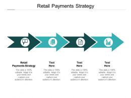 Retail Payments Strategy Ppt Powerpoint Presentation Model Grid Cpb