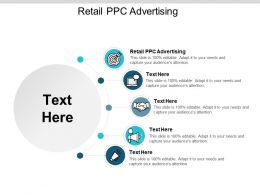 Retail PPC Advertising Ppt Powerpoint Presentation Slides Graphic Tips Cpb