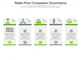 Retail Price Comparison Ecommerce Ppt Powerpoint Presentation Pictures Display Cpb