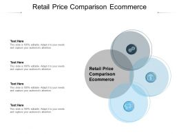 Retail Price Comparison Ecommerce Ppt Powerpoint Presentation Show Cpb