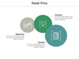 Retail Price Ppt Powerpoint Presentation Professional Example Cpb