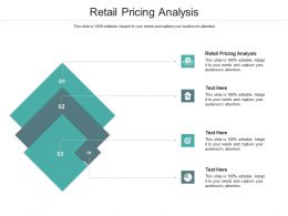Retail Pricing Analysis Ppt Powerpoint Presentation Visual Aids Example File Cpb