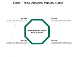 Retail Pricing Analytics Maturity Curve Ppt Powerpoint Presentation Model Topics Cpb