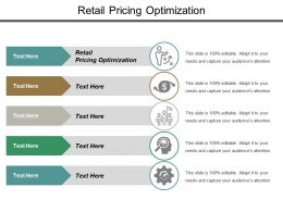 Retail Pricing Optimization Ppt Powerpoint Presentation Layouts Picture Cpb