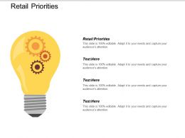Retail Priorities Ppt Powerpoint Presentation Icon File Formats Cpb