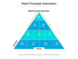 Retail Processes Automation Ppt Powerpoint Presentation Infographics Templates Cpb
