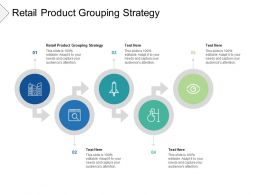 Retail Product Grouping Strategy Ppt Powerpoint Presentation Outline Guidelines Cpb