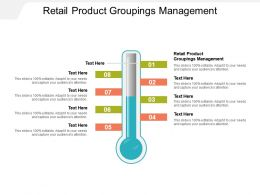 Retail Product Groupings Management Ppt Powerpoint Presentation Portfolio Design Cpb