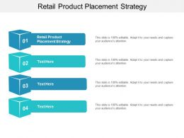 Retail Product Placement Strategy Ppt Powerpoint Presentation Gallery Example Cpb