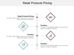 Retail Products Pricing Ppt Powerpoint Presentation Icon Template Cpb