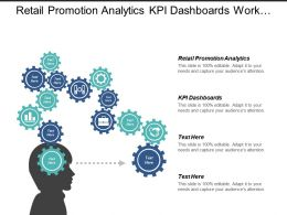 Retail Promotion Analytics Kpi Dashboards Work Samples Portfolio Cpb