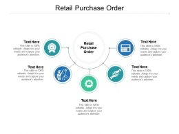 Retail Purchase Order Ppt Powerpoint Presentation File Aids Cpb