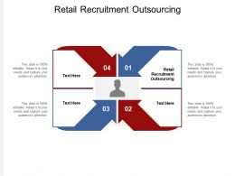 Retail Recruitment Outsourcing Ppt Powerpoint Presentation Visual Aids Deck Cpb