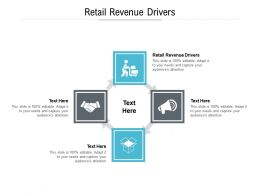 Retail Revenue Drivers Ppt Powerpoint Presentation Outline Model Cpb