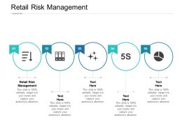 Retail Risk Management Ppt Powerpoint Presentation Infographics Graphics Template Cpb