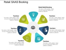 Retail SAAS Booking Ppt Powerpoint Presentation Example Cpb