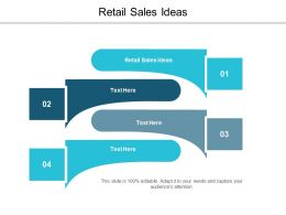 Retail Sales Ideas Ppt Powerpoint Presentation Infographic Template Elements Cpb