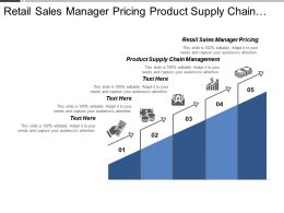 Retail Sales Manager Pricing Product Supply Chain Management Cpb