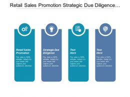 Retail Sales Promotion Strategic Due Diligence Dynamic Capabilities Cpb