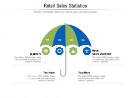 Retail Sales Statistics Ppt Powerpoint Presentation Layouts Ideas Cpb