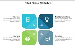 Retail Sales Statistics Ppt Powerpoint Presentation Show Elements Cpb