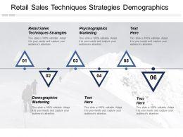 Retail Sales Techniques Strategies Demographics Marketing Psychographics Marketing Cpb