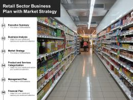 Retail Sector Business Plan With Market Strategy