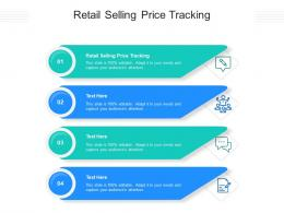Retail Selling Price Tracking Ppt Powerpoint Presentation Pictures Gridlines Cpb
