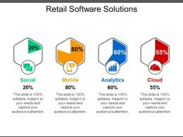 Retail Software Solutions Ppt Example Professional