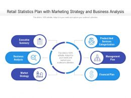 Retail Statistics Plan With Marketing Strategy And Business Analysis