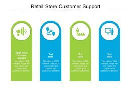 Retail Store Customer Support Ppt Powerpoint Presentation Ideas Show Cpb