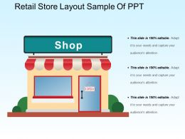 Retail Store Layout Sample Of Ppt