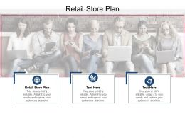 Retail Store Plan Ppt Powerpoint Presentation Model Slideshow Cpb