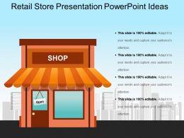 Retail Store Presentation Powerpoint Ideas