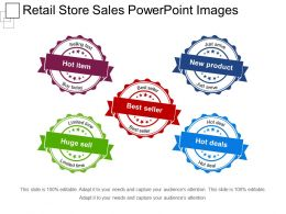 Retail Store Sales Powerpoint Images