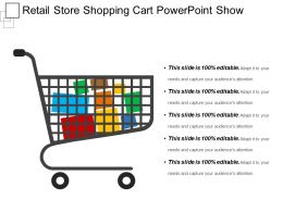 Retail Store Shopping Cart Powerpoint Show