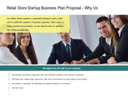 Retail Store Startup Business Plan Proposal Why Us Ppt Powerpoint Gridlines
