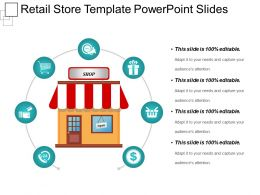 Retail Store Template Powerpoint Slides