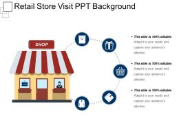 Retail Store Visit Ppt Background